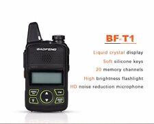 BAOFENG BF-T1 2-Way Radio UHF 400-470Mhz Walkie Talkie CTCSS DCS SOS Kopfhörer