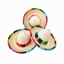 6X Mini Tabletop Sombreros Mexican Hats Mexican party supplies,Mariachi Sombrero
