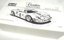 Revell Creative Masters GT40 Model Car White Box 1:20 scale LeMans Winner GT-40