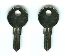 (2) Trimark Jason RV Truck Cap Replacement Keys Pre-Cut to Code 200R