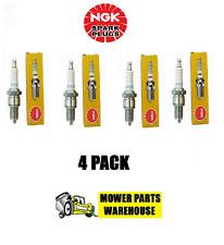 4 PACK GENUINE NGK SPARK PLUGS BPR4ES 6578 JOHN DEERE M805853 SMALL ENGINE