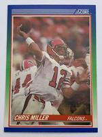 American Football Card💎1990💎Score - Atlanta Falcons - Chris Miller🌟70🌟