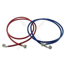 Zanussi Washing Machine Inlet Fill Hose Set 2.5M Hot & Cold