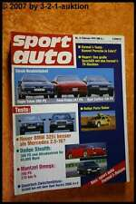 Sport Auto 2/91 Dodge Stealth Mantzel Omega Ford Probe