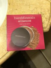 BARE MINERALS GET STARTED DVD GUIDE TO BARE BEAUTY NEW IN PACKAGE