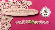 Roses mat Lace silicone mold fondant cake decorating soap wax food cupcake FDA