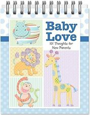 Adorable Baby Love Book 101 Messages For New Parents Baby Boy by Brownlow Gifts