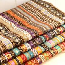 4PCS Cotton and Hemp Pre-Cut Cotton Quilt Cloth Fabric For Sewing Wholesale