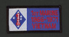 1st US MARINE DIVISION MARDIV VIETNAM NAM HAT PATCH VET MCB CAMP PENDLETON CA