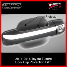 3M Paint Protection film for the Door Cup of a 2014-2018 Toyota Tundra