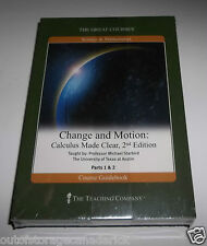 The Great Courses Change & Motion: Calculus Made Clear 2nd Edition - Brand NEW