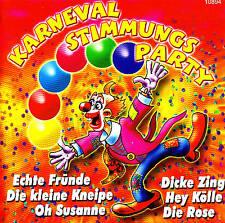 "KARNEVAL STIMMUNGS PARTY ""Top Fetenhits!"" CD 20 Tracks NEU & OVP"