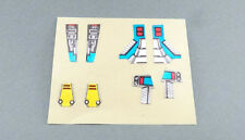 Vintage Transformers G1 Nautilator original stickers UNUSED Seacons 1988