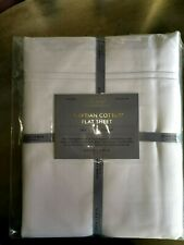 JOHN LEWIS 1000 THREAD COUNT EGYPTIAN COTTON FLAT SHEET DOUBLE £145
