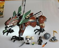 Lego Ninjago 2509 Earth Dragon Defense - Used, See Description