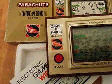 "Super rare!! NINTENDO GAME AND WATCH ""Future tronics"" 1981 (AU) **PARACHUTE**!!!"