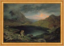 Lake in the Riesengebirge Gustav Karl Ludwig Richter See Schlesien B A3 02150