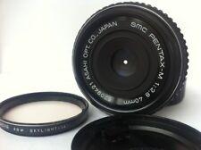 """PENTAX-M SMC 40mm f2.8 Full Frame """"Pancake"""" Prime Lens Excellent"""