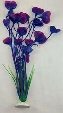 """14"""" Aquarium Artificial Plants - Purple Color"""