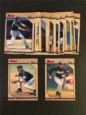 1996 Bowman Houston Astros Team Set 17 Cards