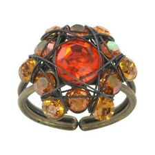 Neues AngebotKonplott Ring Bended Lights orange / gelb