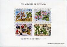 STAMP / TIMBRE DE MONACO BLOC N° 74 ** LES QUATRE SAISONS DE LA RONCE