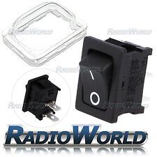 12V 16A Nero Mini Rettangolo Interruttore Rocker Auto/Dash porta luce ON/OFF SPDT i 0