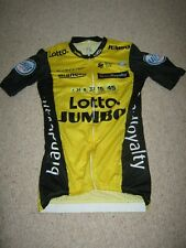 Lotto Jumbo Bianchi S-Phyre cycling jersey [XS] Rider issue Floris de Tier
