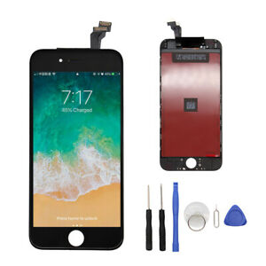 """For iPhone 6 4.7"""" Black LCD Display Touch Screen Digitizer Assembly Replacement"""