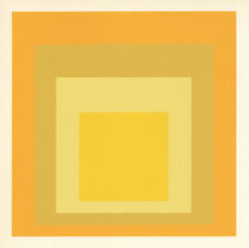"Josef Albers silkscreen ""Homage to the Square""  15065"