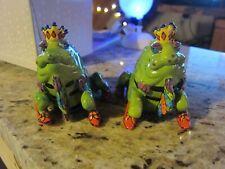 Wonderful Lizard of Oz Salt Pepper Set by Diane Kwiecien Rare ~Must See Pictures