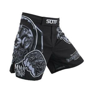 MMA Fighting Shorts Muay Thai Kickboxing Sports Boxing Bjj Cage Fight Pants