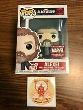 """Black Widow """"Red Guardian/Alexei� Funko Decal Tattoo Marvel Collector Corps"""