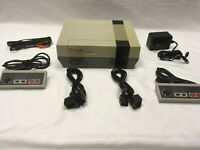 Nintendo Entertainment System Console Set, x2 Controllers