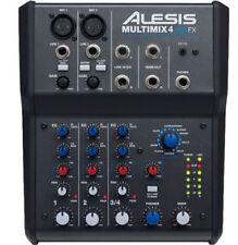ALESIS MULTIMIX 4 USB FX MIXER 4 CANALI CON EFFETTI DSP