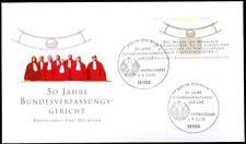 BRD 2001: Bundesverfassungsgericht! FDC der Nr. 2214 mit Berliner Stempeln! 1803