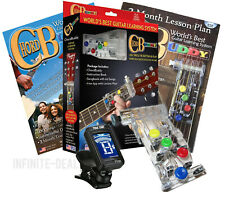 CHORD BUDDY Guitar Teaching System Learning Practice Aid Book Lessons Shark Tank