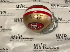JERRY RICE Authentic Autograph Riddell Full Size Official S.F. 49ers Helmet JSA