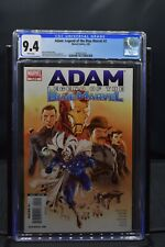 Adam Legend of the Blue Marvel #2 CGC 9.4 WHITE PAGES Marvel 2009 Low Print Run