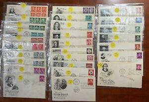 US FDC Liberty Series with Sleeves & Scott# Lot of 28