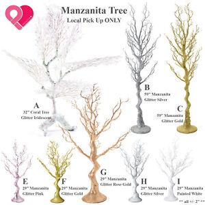 Glitter MANZANITA TREE Coral Artificial Plant Ball Topiary Boxwood Centerpiece