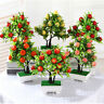 DI- Fashion Artificial Flower Fruit Tree Miniascape Party Home Desk Bonsai Decor