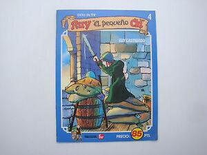 Book Old Spanish Hardback Cartoon Rody The Petit Cid You? El Pequeno No ° 4