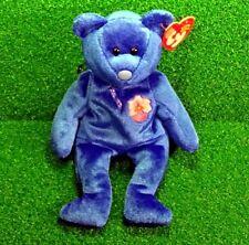 NEW Ty Beanie Baby Vanda The Bear Retired Plush Teddy - MWMT - FREE Shipping