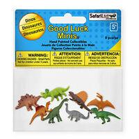 Dinos Fun Pack Mini Good Luck Figures Safari Ltd NEW Toys Animals Education