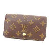 Louis Vuitton Wallet Purse Monogram Brown Woman Authentic Used K306
