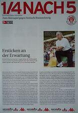 Programm Info 2002/03 FC St. Pauli - Eintracht Braunschweig