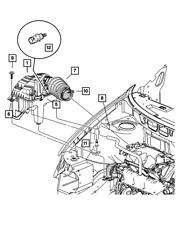 OEM NEW Mopar 1989-2019 Dodge Spirit Air Cleaner Body Latch Cover Upper 5277576