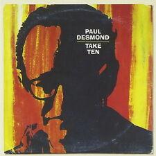 Paul Desmond Take Ten (El Prince, Alone Together) 1997 BMG Sony Legacy CD