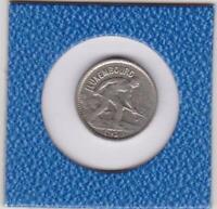 50 centimes Luxemburg 1930 Stahlarbeiter Charlotte Grand Duchesse de Luxembourg